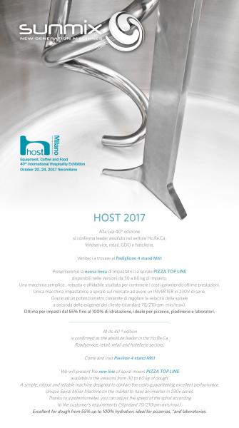 Host Milano 2017